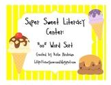 Super Sweet Literacy Center: oo Word Sort