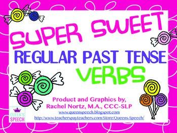 Super Sweet Regular Past Tense Verbs