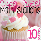 Super Sweet Valentine Math Stations {Common Core Aligned}