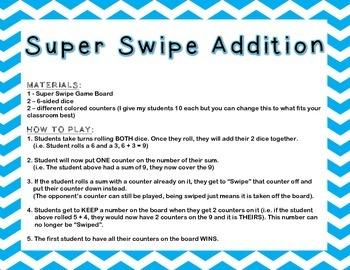 Super Swipe Addition
