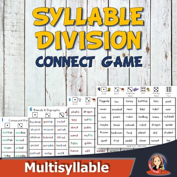 Super Syllable Division Connect Game - Learn to Use Syllab
