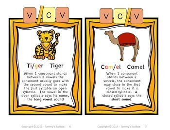 Super Syllable Division Resource Book - How to Read & Spell Multisyllable Words