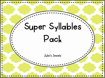 Super Syllable Pack
