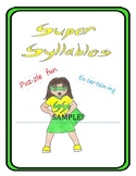 Super Syllables Sample