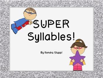 Super Syllables Set - CCSS