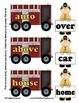Super Synonym Set - 54 Sets of Words - Fire Engine / Fire Man Theme