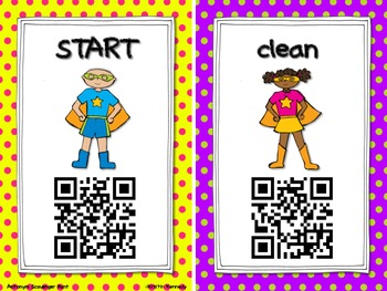 Super Synonyms and Antonyms QR Code Scavenger Hunt (2 Separate Hunts)