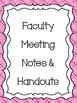 Super Teacher Binder/Planner 2014-2015 Pink