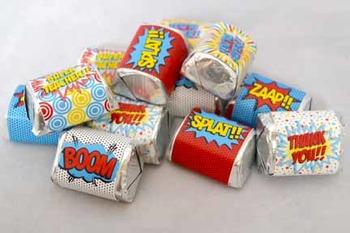 Super Teacher Super Hero Teacher & Staff Appreciation Printable Nugget Wrappers