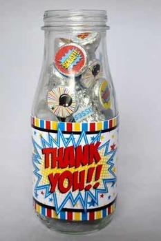 Super Teacher Super Hero Teacher and Staff Appreciation Printable Bottle Wraps