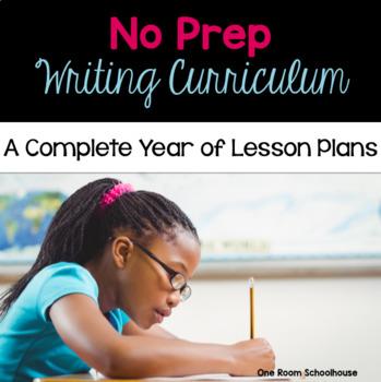 No Prep Writing Curriculum