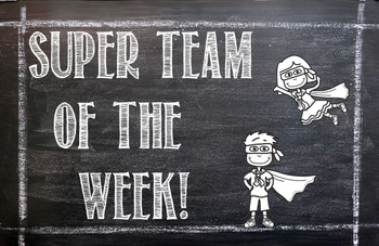 Super Team of the Week Placemats