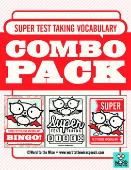 Super Test Taking Vocabulary Combo Pack