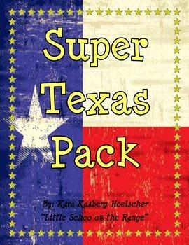 Texas Super Pack * Symbols, Landmarks, and Regions
