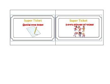 Super Tickets