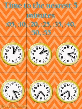 Super Time Telling! A differentiated game to practice telling time.