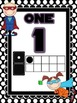 Super Tommy and Super Susie Number Posters *Polka Dots*