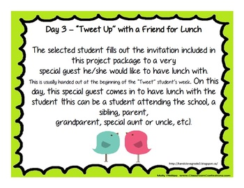 "Super ""Tweet"" Student Project {Student of the Week}"