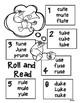 Super Unicorn Long u CVCe Roll and Read