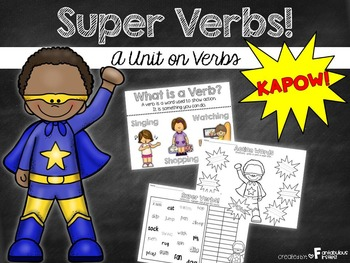 Parts of Speech:  Verbs