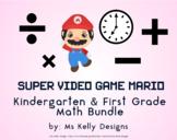 Super Video Game Mario 134 Page Math Worksheet Mega Bundle