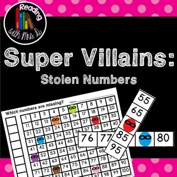 Super Villain Missing Stolen Number Sense