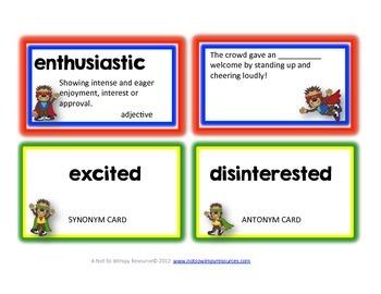 Super Vocabulary Hero: A Vocabulary Journal