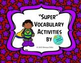 Super Vocabulary Task Cards 1