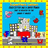 Alphabet, Alphabet Letters, Alphabet Super Hero, Alphabet