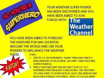 Super WEATHER Hero Forecast