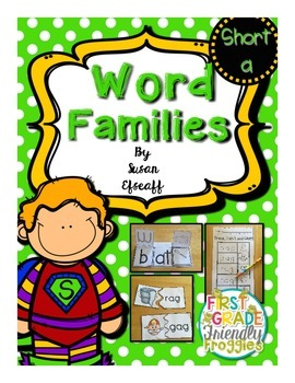 Super Word Families - Short A