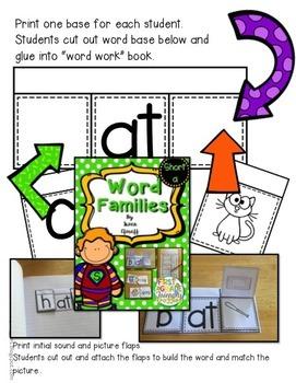 Bundle - Word Families - Alphabet Match - Short Vowels