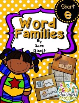 Super Word Families - Short E