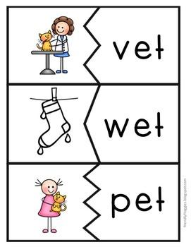 Word Families - Short E