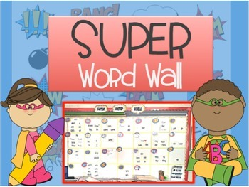 Super Word Wall