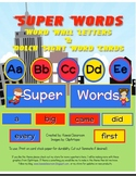 Super Words: Dolch Word Wall Cards