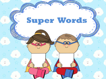 Super Words Posters