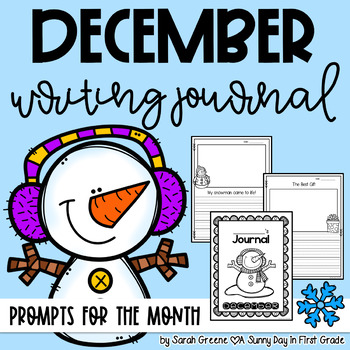Super Writers December {monthly journal!}
