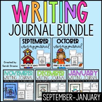 Super Writers Journal BUNDLE! {September-January}