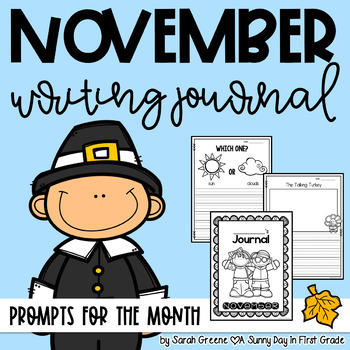 Super Writers November {monthly journal!}