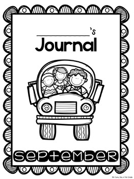 Super Writers September {monthly journal!}