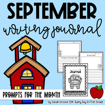 Super Writers September {monthly journal!}