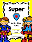 "Super ""e"" Activity Pack  {CVCe; Long a: a_e}"