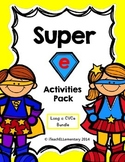 "Super ""e"" Activity Pack Bundle {a_e; i_e; o_e; u_e}"