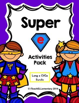 """Super """"e"""" Activity Pack {CVCe; Long o: o_e}"""