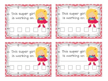 Super girl's agreement