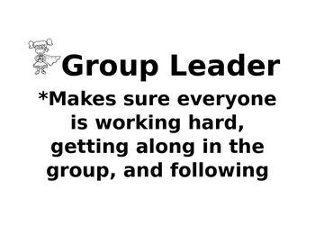 Super hero Group Roles