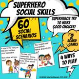 Super Hero Social Skills for Pragmatic Language {Speech Therapy}