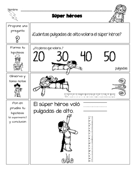 Super héroe STEM en espanol