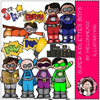 Super kidlette boys by Melonheadz COMBO PACK